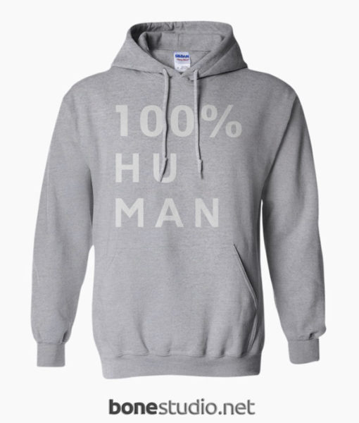 100% Human Hoodie