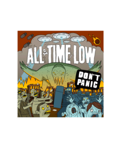 All Time Low T Shirt Don't Panic
