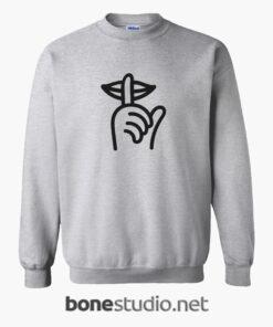 The Quiet Life Sweatshirt sport grey