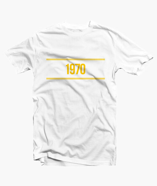 1970 T Shirt Yellow
