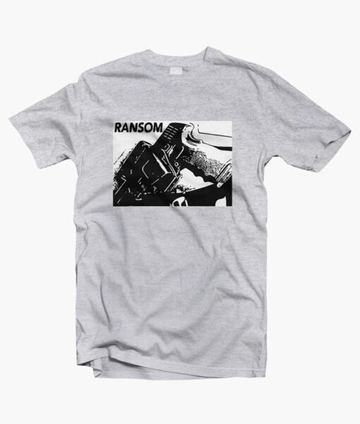 Concealed Carry Ransom T Shirt sport grey
