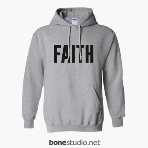 Faith Hoodie sport grey