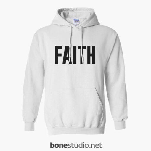 Faith Hoodie white