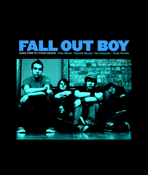 Fall Out Boy Take This To Your Grave Band T Shirt