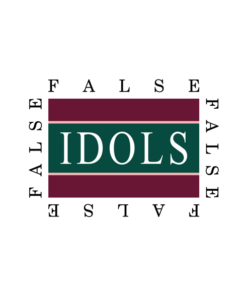 False Idols T Shirt Letters