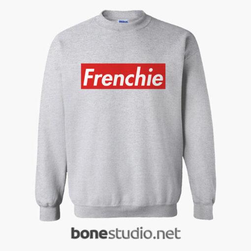 Frenchie SWeatshirt sport grey