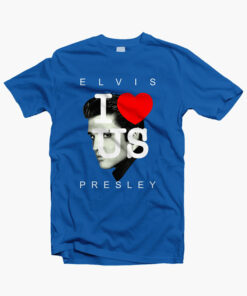 I Love USA Elvis Presley T Shirt