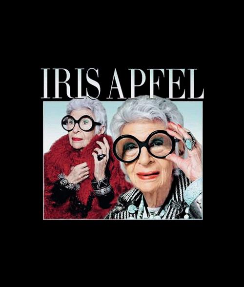 Iris Apfel T Shirt