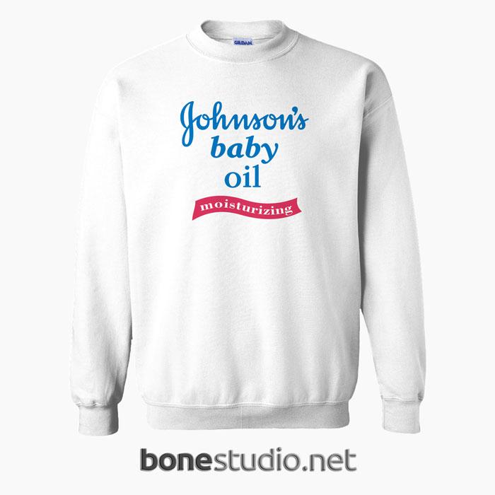 260ec2bcf Johnsons Baby Oil Sweatshirt size S,M,L,XL,2XL,3XL