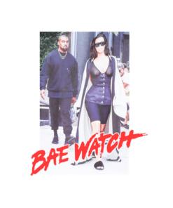 Kanye West Bae Watch T Shirt
