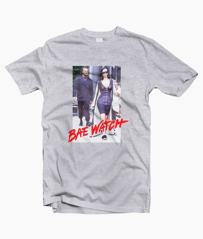 Kanye West Bae Watch T Shirt Size S M L Xl 2xl 3xl