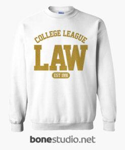 LAW College League Est 1991 Sweatshirt