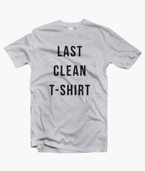 Last Clean T Shirt sport grey
