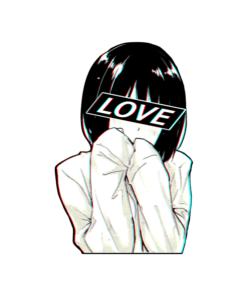 Love Sad Japanese Aesthetic Sweatshirt