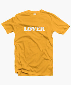 Lover T Shirt yellow gold