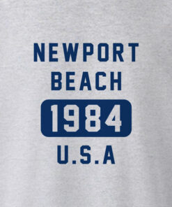Newport Beach 1984 USA T Shirt