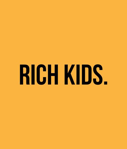 Rich Kids T Shirt