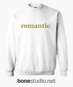 Romantic Sweatshirt white