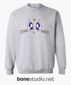 Sailor Moon LUNA Cat Sweatshirt