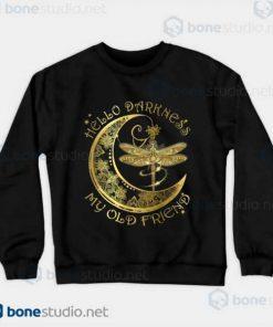 Silence And Darkness Black Sweatshirt