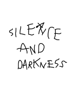 Silence And Darkness Sweatshirt