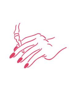Smoking Hand T Shirt