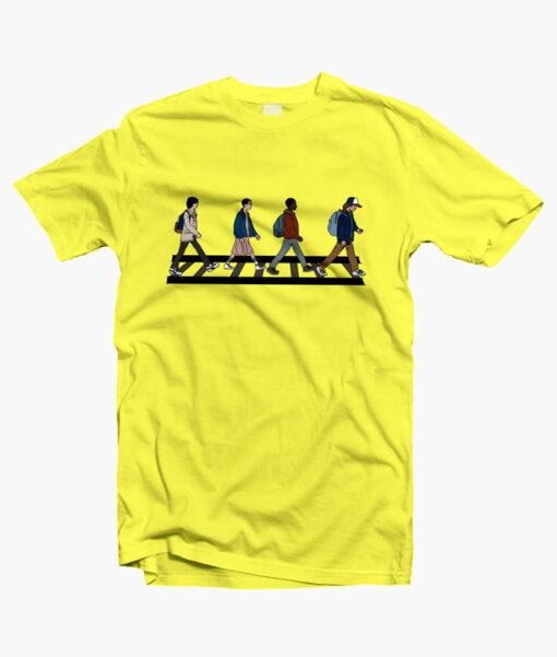 Stranger Things Cartoon T Shirt