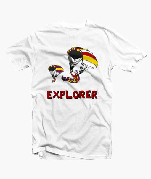 Stranger Things EXPLORERS T Shirt