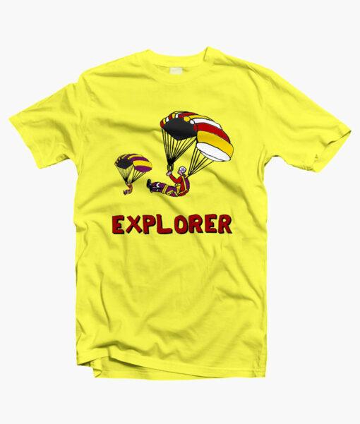 Stranger Things EXPLORERS T Shirt yellow