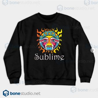 Sublime-Logo-Sweatshirt Black