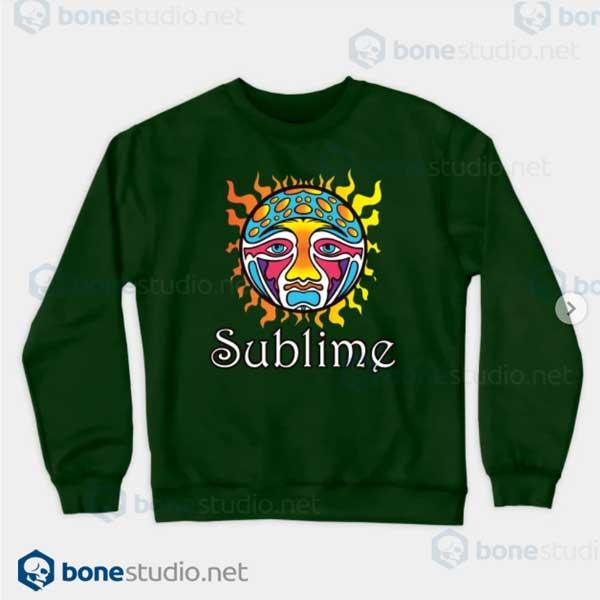 Sublime-Logo Green Sweatshirt