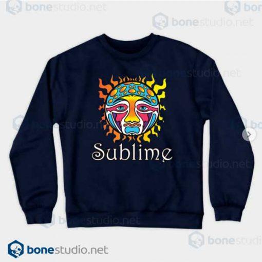 Sublime-Logo-Navy Sweatshirt