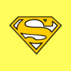 Superman T Shirt Yellow