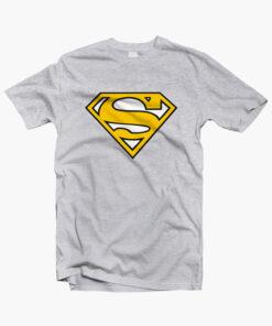 Superman T Shirt Yellow