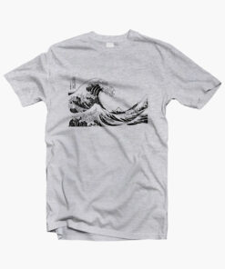 The Great Wave off Kanagawa T Shirt