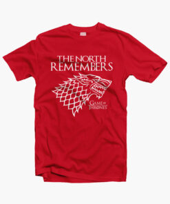 The North Remember Game Of Thrones T Shirt red