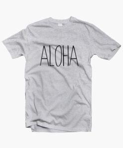 Aloha T Shirt Beach sport grey