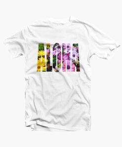 Aloha T Shirt Flower