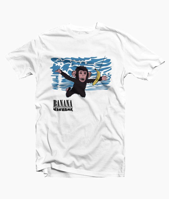 a4a67f88a3 Banana Nirvana T Shirt For Men Women Size S-M-L-XL-2XL-3XL