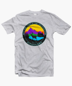 DEER T Shirt No One Stays At The Top Forever sport grey