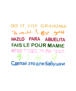 Do it for Grandma International Women's Day T Shirt