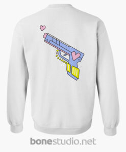 Dont Forget Girlhood Sweatshirt White Back