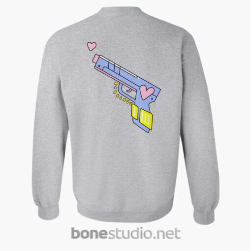 Dont Forget Girlhood Sweatshirt sport grey Back