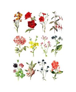 Flower Vintage T Shirt