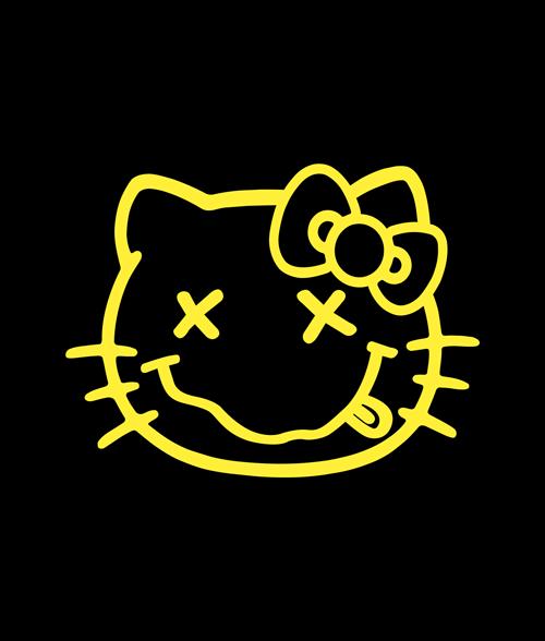 Hello Kitty Nirvana T Shirt