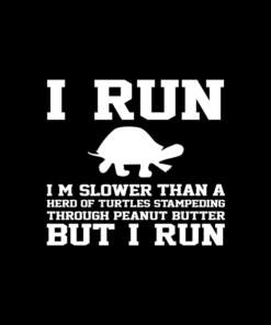 I Run I'm Slower Than A Herd Of Turtles Sweatshirt
