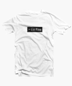 Im Fine T Shirt white
