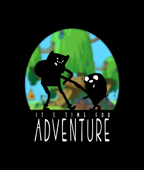 It's Time For Adventure Finn And Jake T Shirt