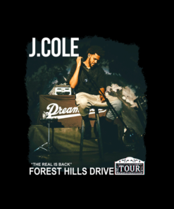 J COLE Forest Hills Drive T Shirt