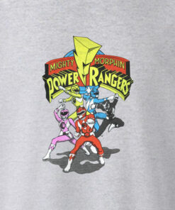 Mighty Morphin Power Ranger T Shirt Fight